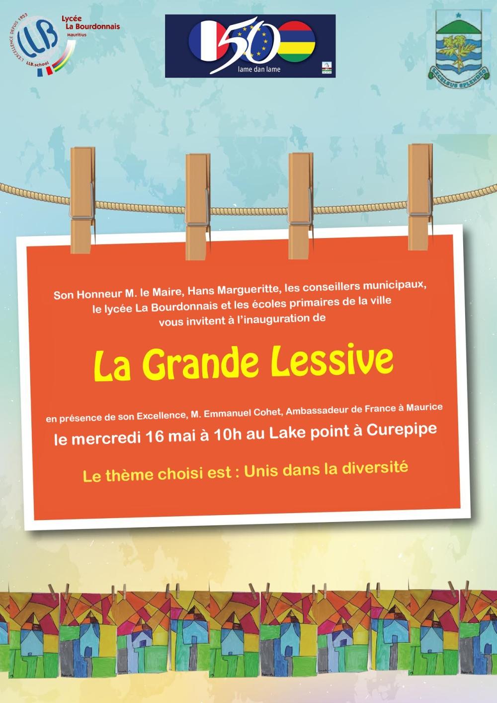 INVIT LLB Grande lessive